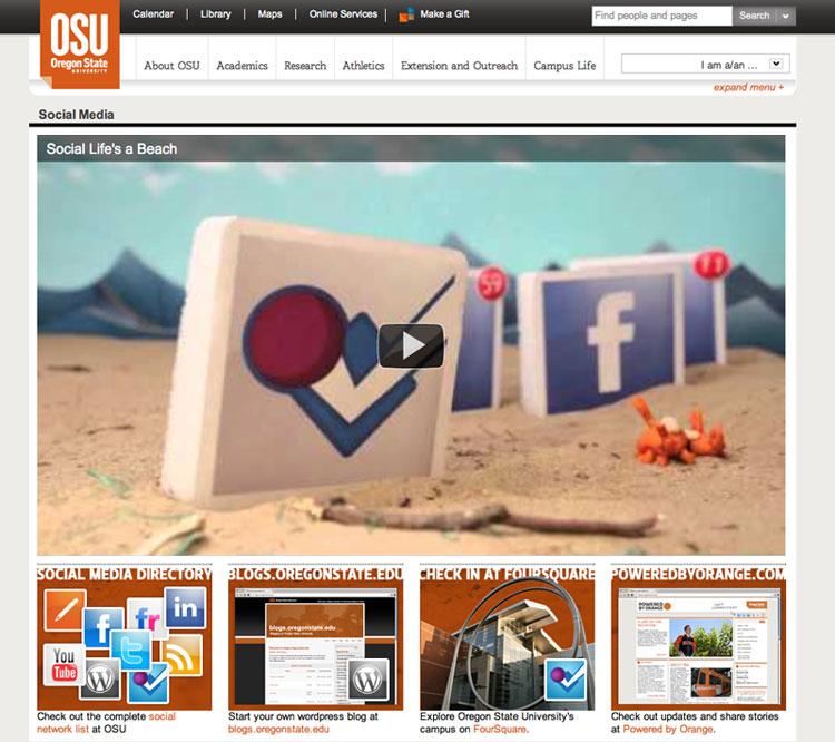 Social Media para universidades